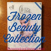 Bibbidi Bobbidi Boutique not in the budget for your next Disney World vacation? Surprise your girl(s) with this kit and have a blast with a DIY makeover. | Elsa makeup collection from e.l.f. available at Walgreens | Growing Up Disney