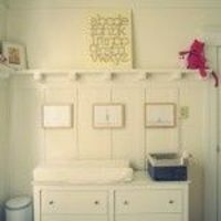 A sweet, simple & sophisticated nursery for our baby girl.