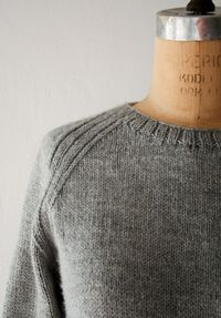 I'd lower the neckline a bit but I want to be in this til summer comes. Laura's Loop: The SweatshirtSweater