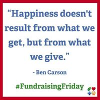 It's #FundraisingFriday :: Please Donate to Your Favorite Nonprofit!