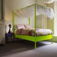 Neon is a hot trend in fashion and home decor this summer! If you were a child of the 80's, you might shudder at the thought of a return to neon. Fear not my fo