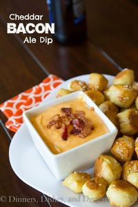 Cheddar Bacon Ale Dip | Dinners, Dishes, and Desserts - Part 1