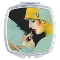 Cute Pocket Makeup Mirrors