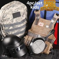 Backpack, Helmet, Pan & Armour