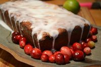 Cranberry Lime Loaf