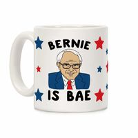 �œ� Handcrafted in USA! �œ� Support American Small Businesses. Bernie Is Bae Ceramic Coffee Mug $14.99