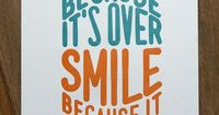 Dr. Seuss Quote Poster by Naomie Ross, via Behance - One of my very favorite quotes.