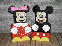 Painted Brick Paver Pals by ~WoodWinkles on deviantART