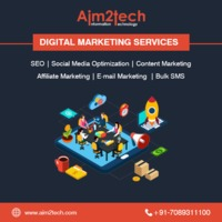 Best digital marketing agency in Indore offer digital marketing services like SEO, PPC, SMO, Content writing and more. Connect with us. Visit https://aim2tech.com/digital-marketing/ for more detail.