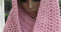 Pink Bulky Cowl 178 by croknits on Etsy, $42.00