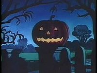 Read the story of Jack O' Lanterns, creepy carved pumpkins here: http://horrorpedia.com/2014/10/06/jack-o-lantern-folklore-and-tradition/