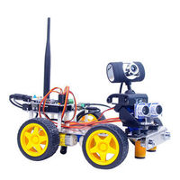Xiao R DIY GFS WiFi Video Control Smart Robot Car Kit for Arduino UNO