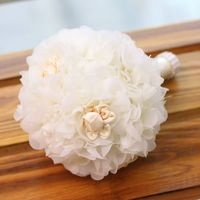 Diy Artificial Flowers Silk Rose Bouquets For Weddings Tall 20CM