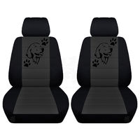 Two Front Seat Covers Fits a Toyota Corolla with a Labrodor on the Insert of the Seat Covers Airbag Friendly $89.99