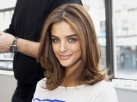 Perfect! Not too short to work with & not to long for my fine hair. This is my goal.