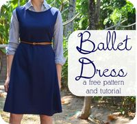 Ballet Dress: A Free Pattern + Tutorial - crafterhours