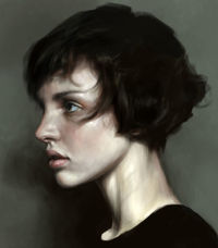 short hair by mohamed gambouz