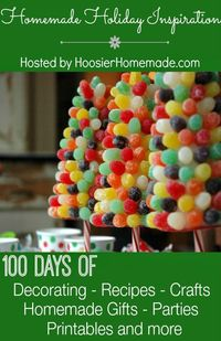 100 Days of Homemade Holiday Inspiration for 2014 is here! Each day we will be sharing a new and fun idea to give you inspiration for the Holiday Season. Are yo