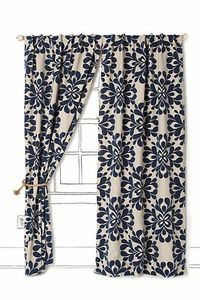 Coqo Floral Curtain from Antrhopologie! Just got a killer deal on these!!