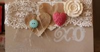 The Artisan Embellishment kit is filled with Delicate lace, buttons and the LOVE tickets are perfect for any project.