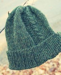 Father's Forest Hat | AllFreeKnitting.com