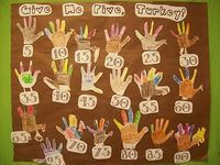 Counting by 5s - love this... and I don't have to wait till the 100th day of school now!!!!