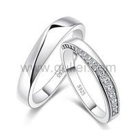Matching Couple Rings with Custom Engraving Sterling Silver https://www.gullei.com/high-quality-cubic-zirconia-silver-matching-rings-custom-engraving.html