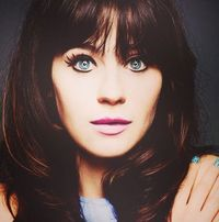 "Dr. Anastasia Rose Steele (Zooey Deschanel). 5'3"" currently 26 years old, psychologist. Christian Grey's love interest."