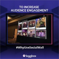 Display Live Social Media Wall at Event  To make your event interactive and increase audience's participation, create a Social Wall. Place a social media wall at event area and display all live social media post on a big screen to your audience. S...