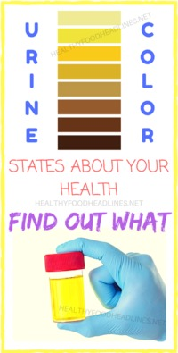 URINE COLOR STATES ABOUT YOUR HEALTH (FIND OUT WHAT)