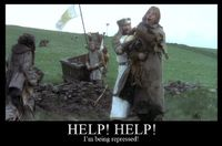 monty python, holy grail and movies.