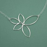 Floating Lotus Necklace