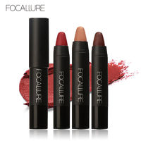 FOCALLURE 12 Colors Lipstick Matte Lipsticker Waterproof Long-lasting Easy to Wear Cosmetic Nude Makeup $9.25