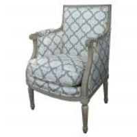 French Painted Mini Bergere From Parc Monceau...