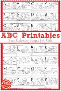 Today, we have more Free Kids Printables from the Little Bunny series!