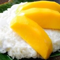 Mango with Sticky Rice | Asian Desserts | Asian-Fusion.com