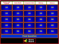 This site allows you to create your own jeopardy game.