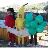 funny halloween costumes | Funny Fruits Group Costume