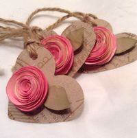 These gift tags are a top seller, they are each heart is hand punched and is�€�