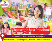 Place your child in Early Innings the best preschool and daycare center which gives the best opportunity for learning and development in a healthy environment for positive outcome.