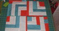 Gees Bend inspired quilt how-to Also shows how to make the quilt from Paul's Block Party