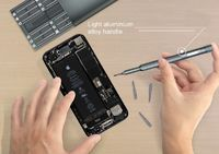JAKEMY JM-8168 Screwdriver Set 24 in 1 Multi-Purpose Magnetic Precision with Deep Hole Screw Bits