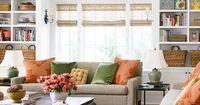 Great living room design ideas. Bookcases/ Bookshelves in living room