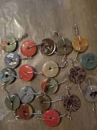 19 1 inch DIY Washer Pendants ready made $7.00