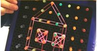 Geoboards are great for shape recognition, fine motor skills, and STEM. But who has time to make one? Forget the hammer and nails. Making this DIY geoboard is s