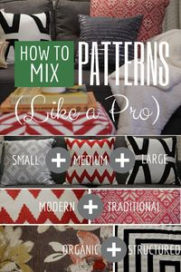 How to Mix Patterns Like a Design Pro