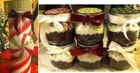 Baking in jars: It's easier than it looks (I promise). What a great idea for party favors or holiday gifts. There is one address on the web that talks about baking in a shallow cake pan to hold some water. Haven't done either way so don&...