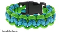 http://www.beadaholique.com/yt - In this video, learn how to make a basic 4 strand bracelet with square knots, also known as the cobra pattern, using nylon parachute cord and plastic buckles. Designer: Megan Milliken Basic 2 Color Paracord Bracelet - Gree...