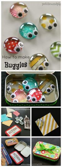 Altoid Tin Reuse Bug Craft Toy. This is DARLING! Fun kids craft for summer!!