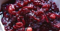This chutney is a departure from the usual cranberry sauce, thanks to a touch of spice.